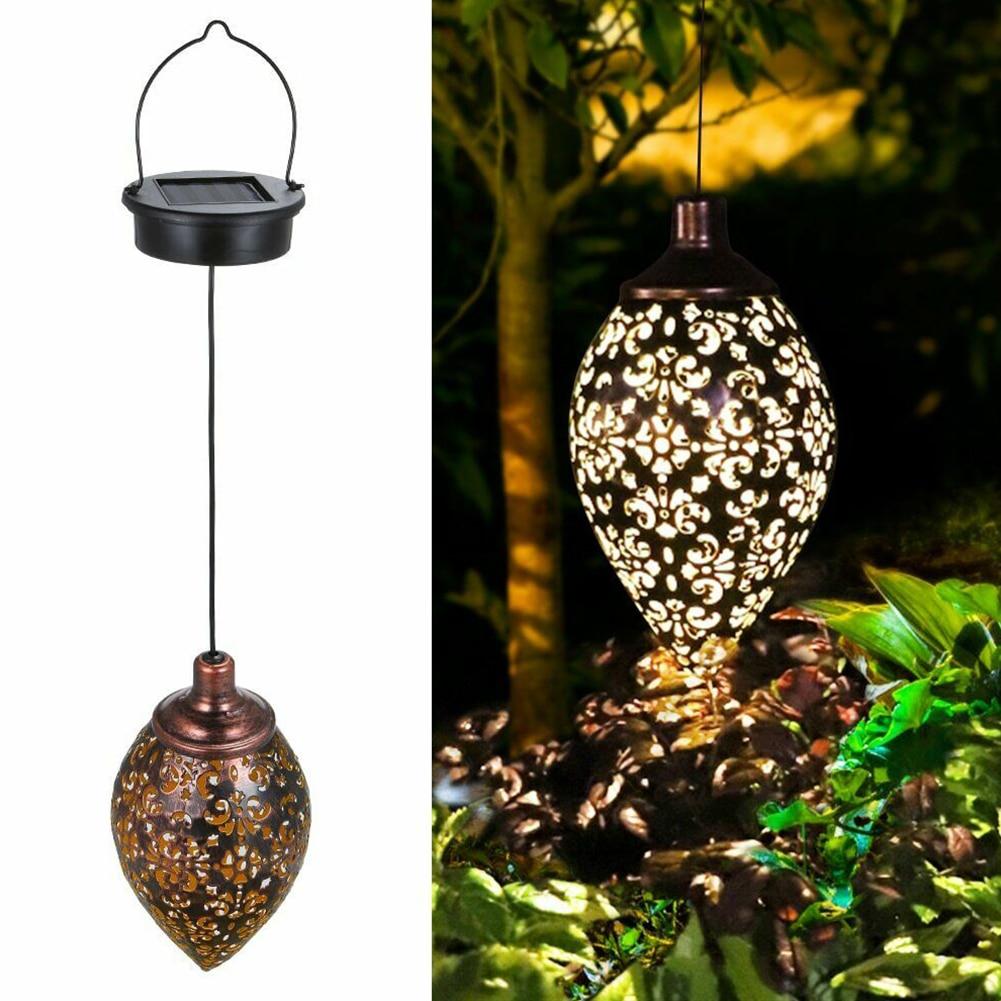 Светодиодный фонарь на солнечной батарее, водостойкий фонарь на лужайке, мерцающий фонарь светильник, наружный светодиодный светильник для огня, украшение для сада