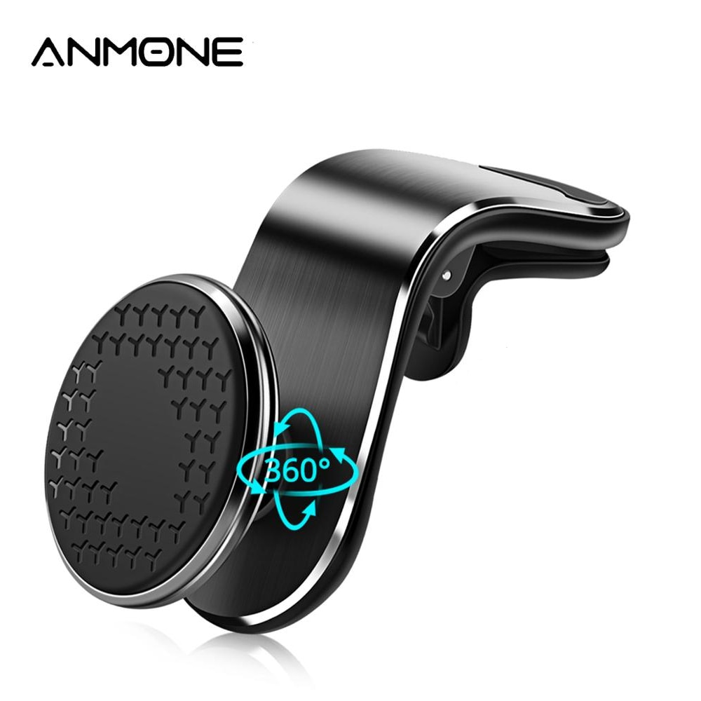ANMONE Universal Magnetic Car Phone Holder For Mobile Phone Support Phone Mount Stand For Tablets an