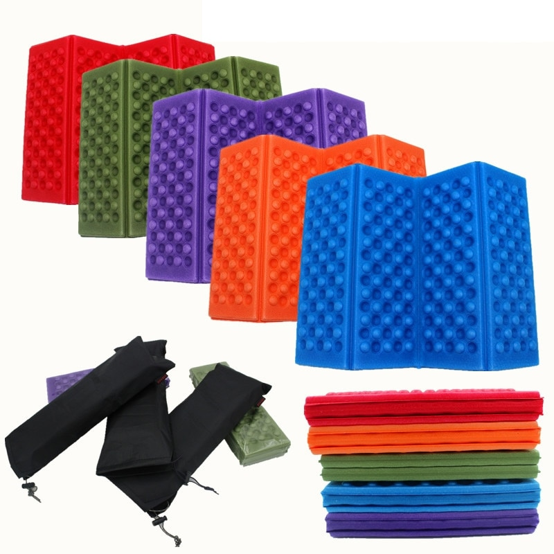 Moisture Proof Camping Mat Portable Foldable Small Seat Cushion Pad for Outdoor Camping Hiking Picnic