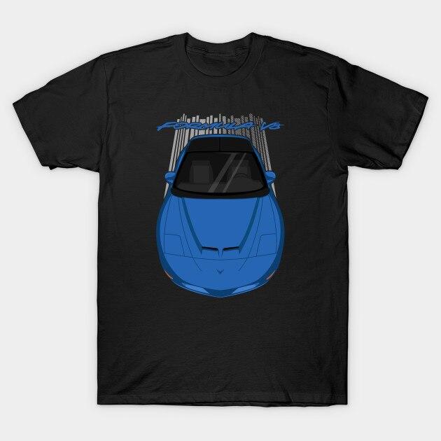 Men t-shirt Pontiac Firebird Formula 4thgen 1993 1997   Blue tshirt Women t shirt