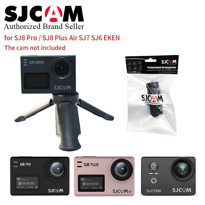 SJCAM Tripod Portable Self Stick Light Stand Table Tripods Live Show For SJCAM Sj8pro plus sj7 sj6 Camera Gopro 7 6 5 4 XiaoYi