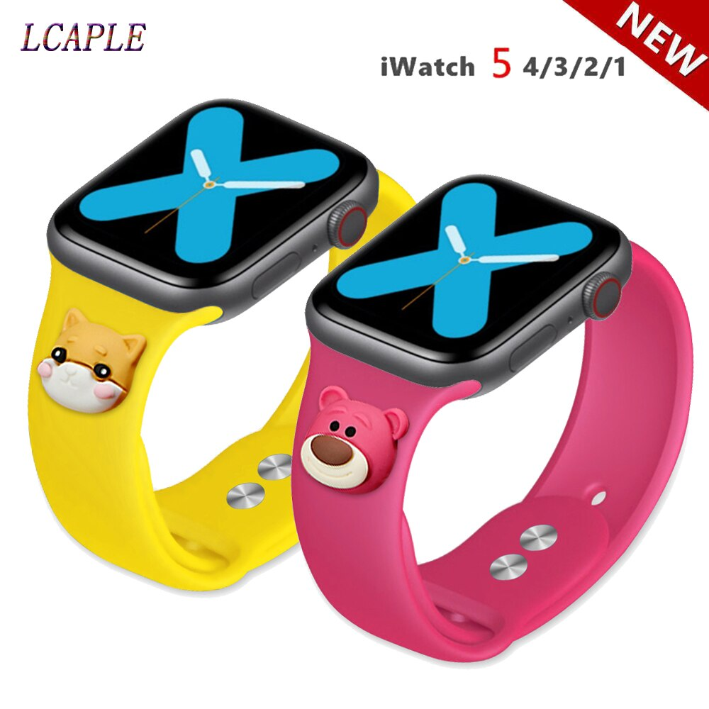 Correa para apple watch 5 banda 44mm 40mm muñeca reloj de pulsera de silicona correa iwatch banda 42mm 38mm apple watch serie 5 4 3 2