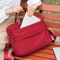 high capacity briefcases travel necessary laptop document organizer shoulder bag business ipad phone notebook storage handbag
