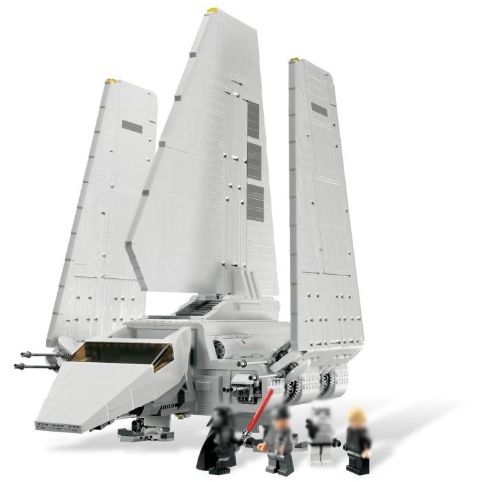 LELE Star Plan 35005 Imperial Shuttle Set with Figures Building Blocks Brick Toy Model Kit Lepining Wars 10212 Christmas Gift