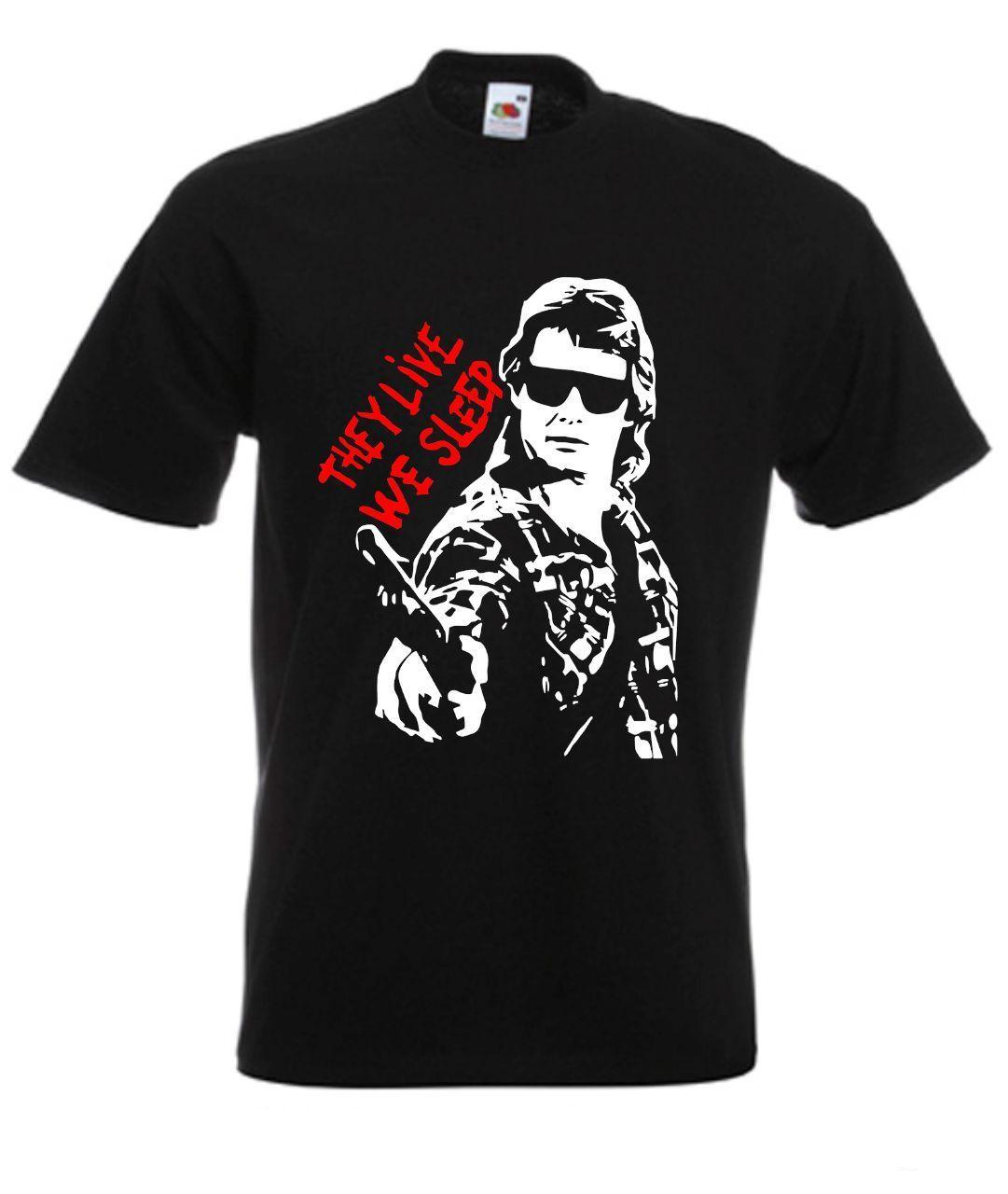 Camiseta de la película de John Carpenter/Sudadera con capucha Cool Casual pride camiseta hombres Unisex moda camiseta gratis