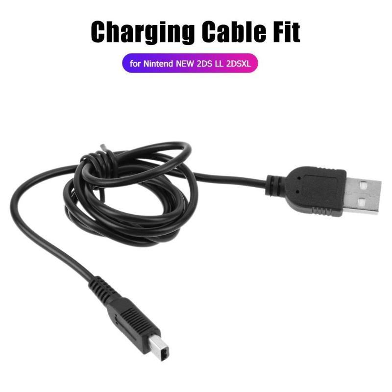 1m Gamepad Cable de carga rápida Cable de carga cargador de línea de alimentación para la nueva consola 2DS LL 2DSXL 2DS NDSI 3DS 3DSXL