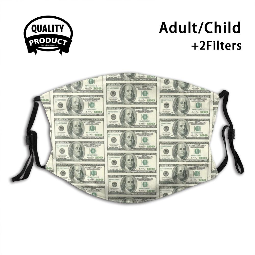 100 Dollar Bill Fashion Trendy Masks 100 Dollar Bill Dollar Bill 100 Usd Usd Usa Money Us Money 100 Us United States Dollar