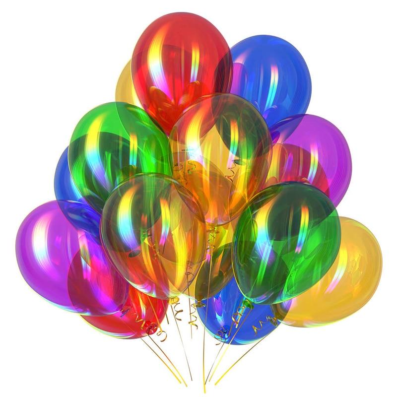 100 шт./лот, 10 дюймов, 1,5 г, жемчужные латексные шары, аксессуары, гелиевый газ для воздушных шаров, Новый шар, латексный Балон, балон