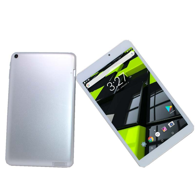 الفضة اللوحي مبيعات ساخنة 8 بوصة A810 أندرويد 6.0 MTK8163 1DDR3 1GB + 8GB Z3735G رباعية النواة كاميرا مزدوجة