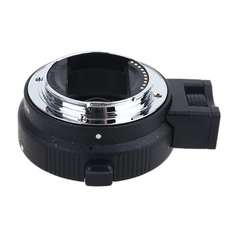 Auto Foco AF EF-NEX II Anel Adaptador de Lente para NEX e Mount para Sony A7 EF-S/A7R A7II A5000 a6300 DSLR Camera