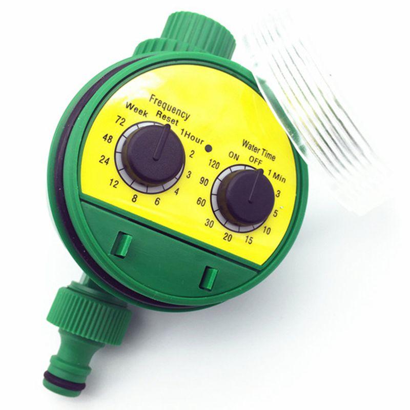 1 Pc Englisch Elektronische Intelligenz Garten Bewässerung System Timer Controller Wasser Programme Verbindung G3 / 4 Gewinde Wasserhahn