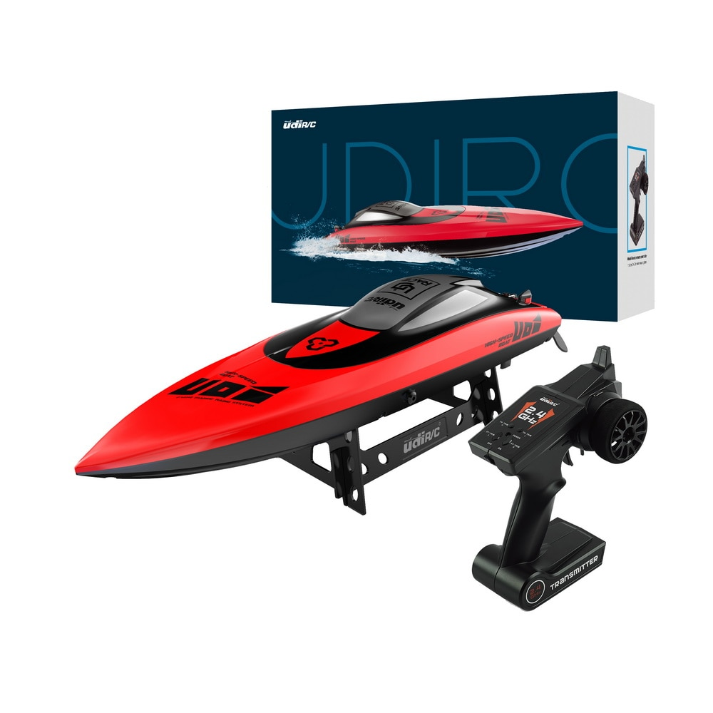 UDI009 RC Boat Fish Finder Fish Submarine 500m Remote Control Fishing Bait Boat Ship Speedboat RC Toys 35km/h enlarge