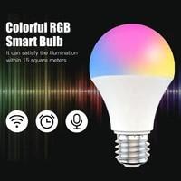 Ampoule Wifi intelligente pour maison connectee  15W RGB   CCT  commande vocale  fonctionne avec Alexa Google Home APP