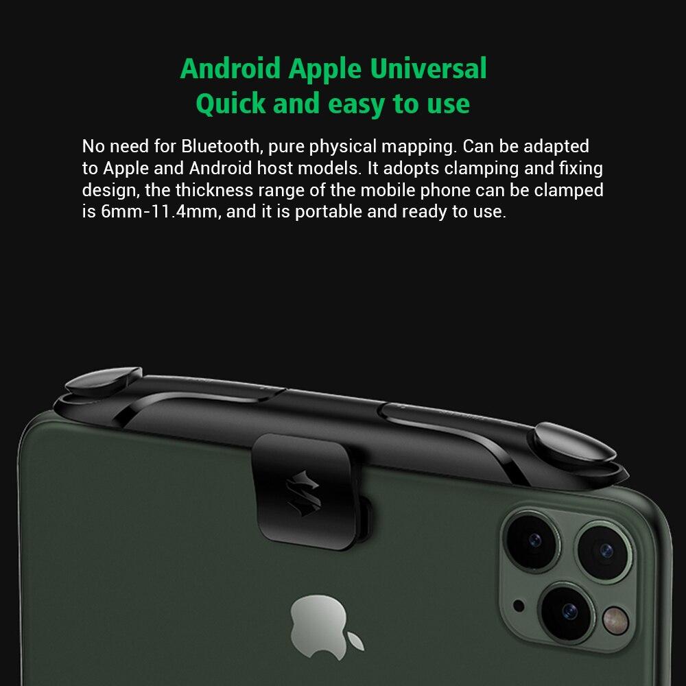 Black Shark Gaming Shoulder Trigger for Black Shark 2 3 Pro,Andorid iOS Codm PUBG Controller Universal Mobile Shooter Joystick enlarge