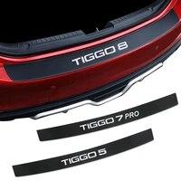907 cm car rear bumper load edge protector stickers for chery tiggo 3 4 5 7 pro 8 auto trunk guard plate decals