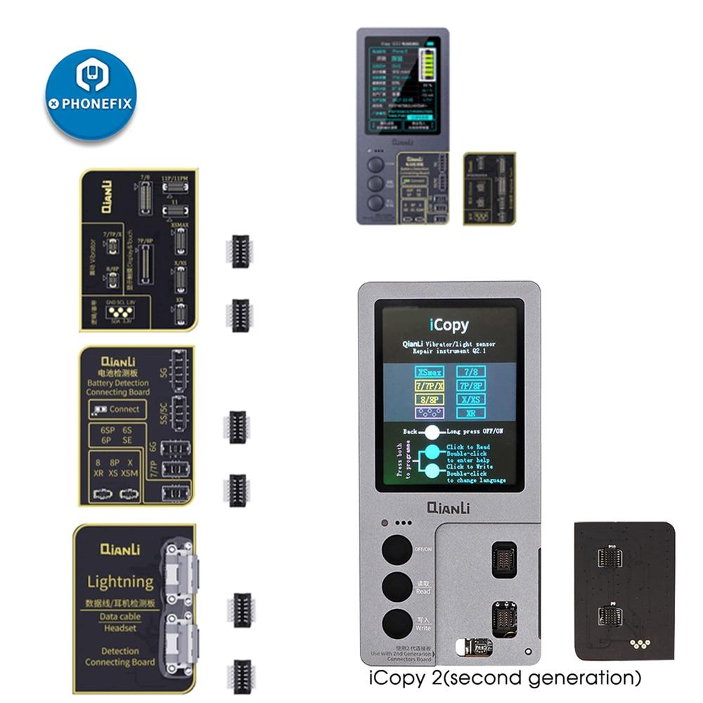 Qianli iCopy Plus for iPhone 7/8/8P/X/XR/XS/XSMAX/11 Pro Max LCD/Vibrator Transfer EEPROM Programmer