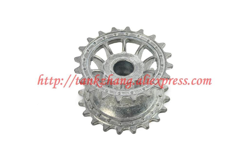 HENG LONG 3818/3819 RC tank German tiger I / German panther 1/16 spare parts No.18-079 Metal track driving wheel / sprocket