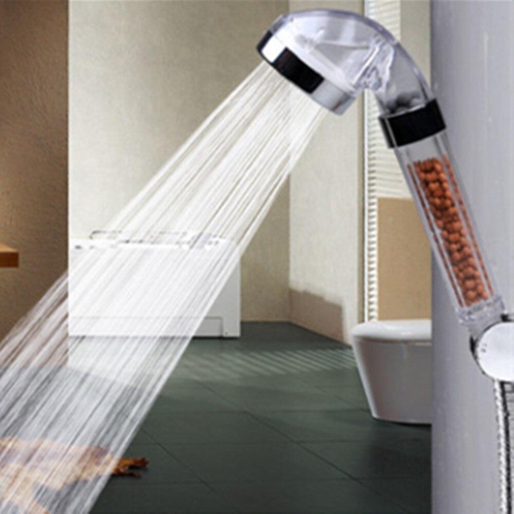 Handheld Water Saving Shower Head Bath Shower Nozzle Sprinkler Sprayer Filter Water Saving Filter Shower QDD1114