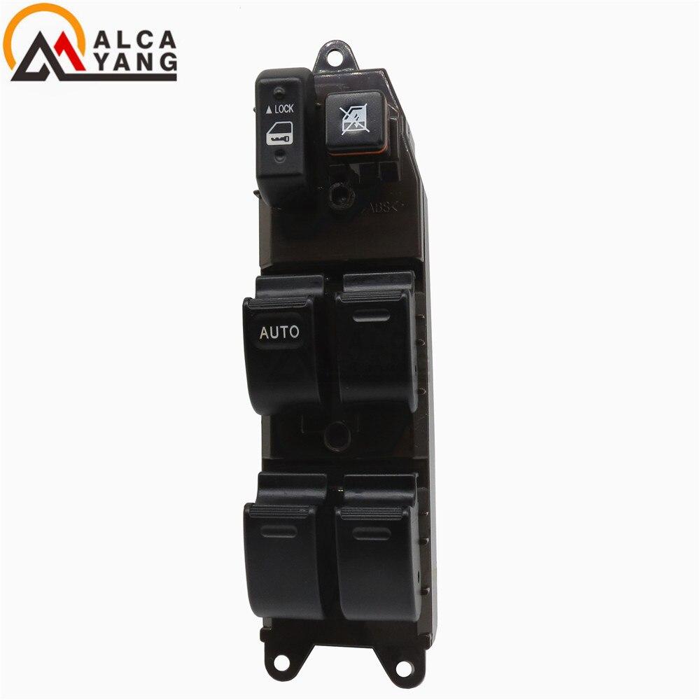 Malcayang de interruptor principal de Control de ventanilla para Toyota Corolla Matrix Pontiac Vibe 84820-AE012