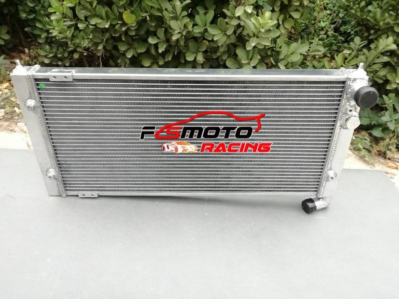 مشعاع عالمي من الألومنيوم تبريد لسيارة فولكس فاجن جولف 2 و كوررادو VR6 دليل توربو MT