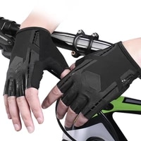 cycling gloves outdoor sports gloves half finger breathable non slip wear resistant hand guard mountain bike racing universal