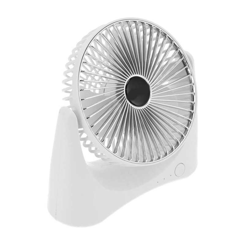 Ar condicionado-mini ventilador de mesa carregador usb 3 velocidades ajustável, ventilador com refrigeração para casa, escritório, sala de estar, casa, recém-chegado