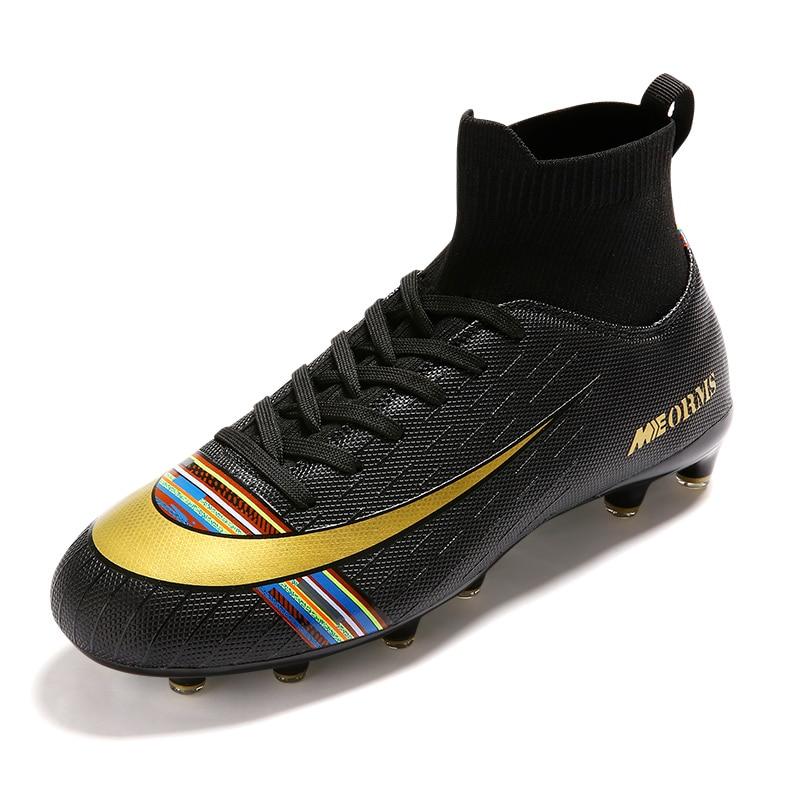 Zapatillas de fútbol para hombre, calcetín superior, zapatillas deportivas para hombre, zapatillas de deporte para hombre, color verde, botas de fútbol para hombre, botines para primavera y otoño