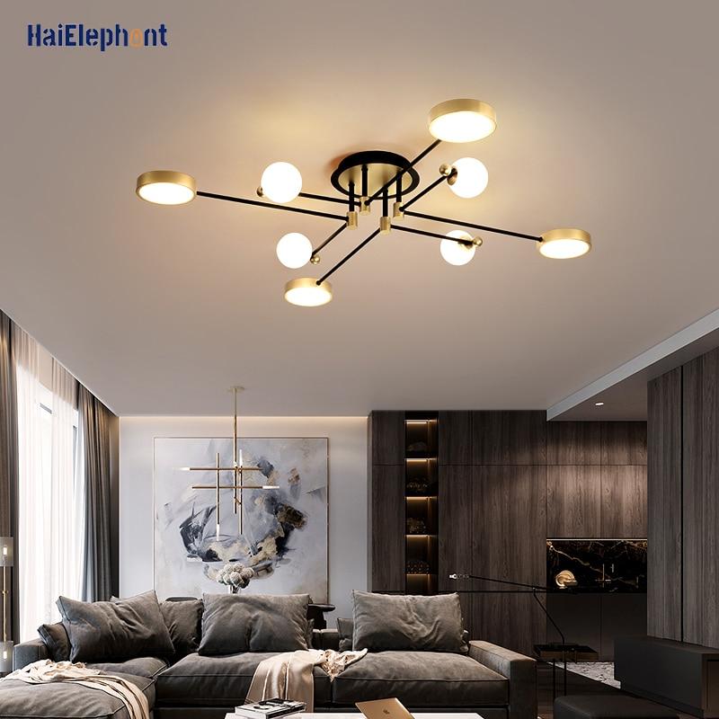 Home Deco Lamps Modern LED Chandelier Lighting For Living Room Bedroom Dining Room Indoor Lights Fixtures Luminaria Lustres