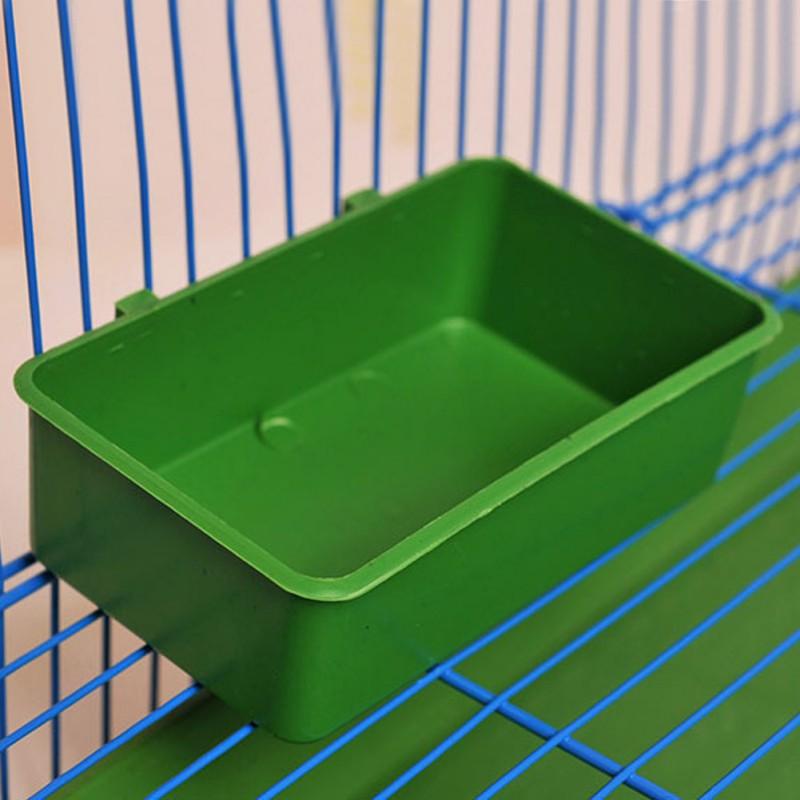 Bird Bath Bathtub Bath Box Bird Cleaning Tool Cage Accessories Parrot Bath Transparent Plastic Hanging Tub Shower  #7