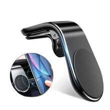 Magnetic Car Phone Holder GPS Mount Holder Air Vent Clip 360 Metal Magnet Phone Stand For iPhone 12 11 pro Huawei Xiaomi