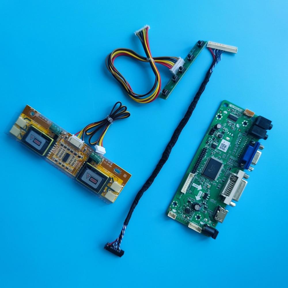 HDMI-متوافق DVI M.NT68676 4 مصابيح تحكم مجلس الصوت LCD LVDS عدة LTM190E4-L01/L02 1280X1024 19