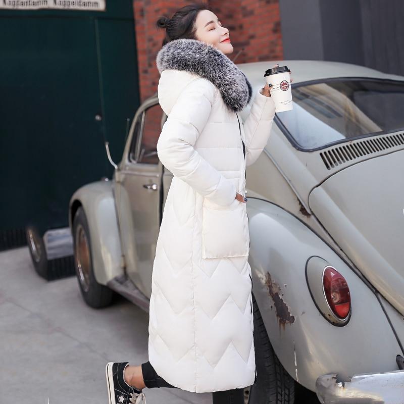 سترة شتوية للنساء من الجانبين مع سترة معطف دافئ مبطن طويل من الفرو