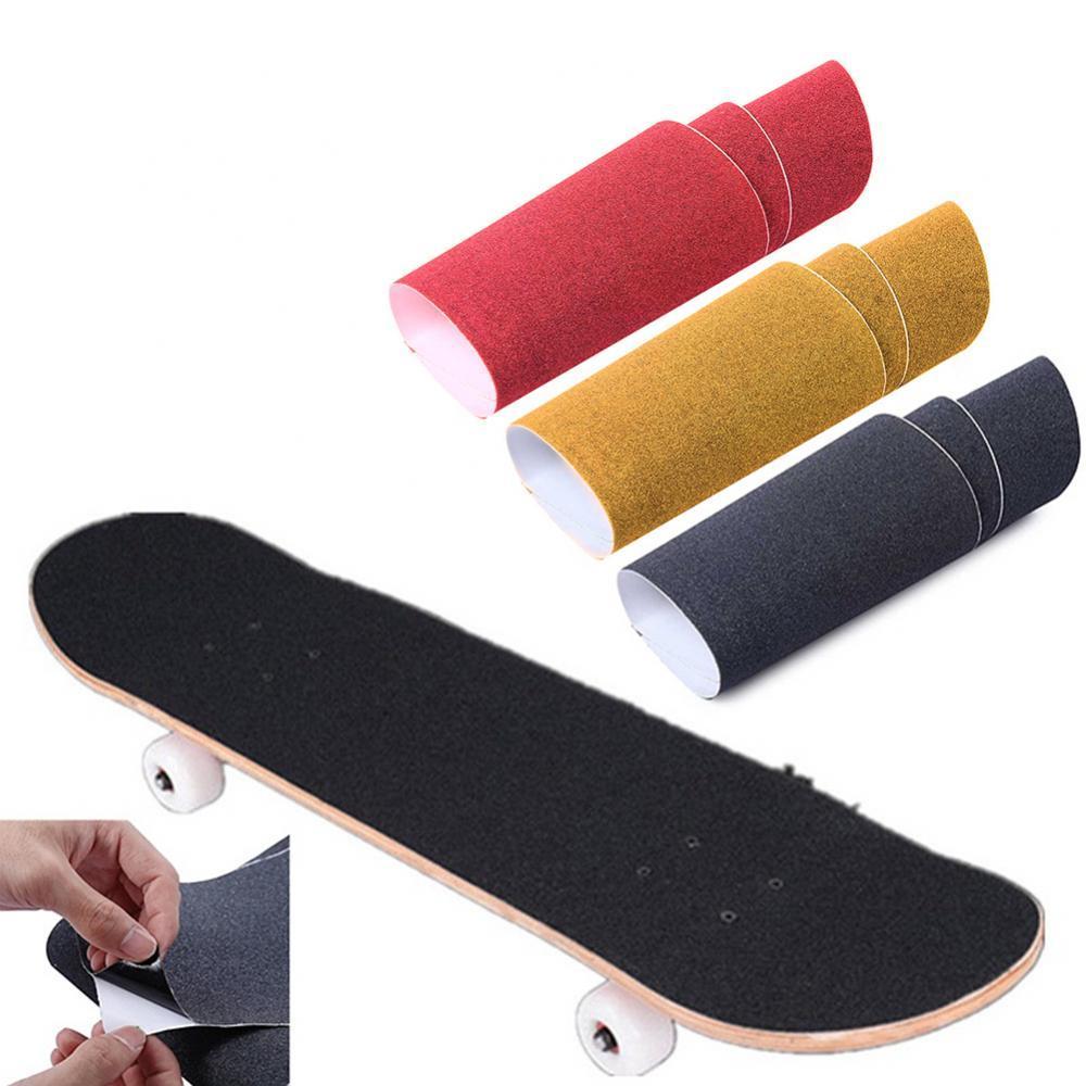 79 19cm skateboard deck diy double rocker skate board with sandpaper scooter 8 layers maple wood skateboard abrasive grip tape Skateboard Sandpaper Skate Board Deck Sticker Sandpaper Scooter Griptape Longboard Abrasive Grip Tape Sand Paper Skateboard
