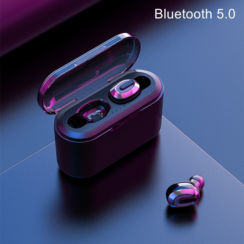 Mini Tws Earphone Bluetooth 5.0 Earbuds Rechargeable Headset Blutooth Wireless Headphone With Charge Box Led Display Handfree