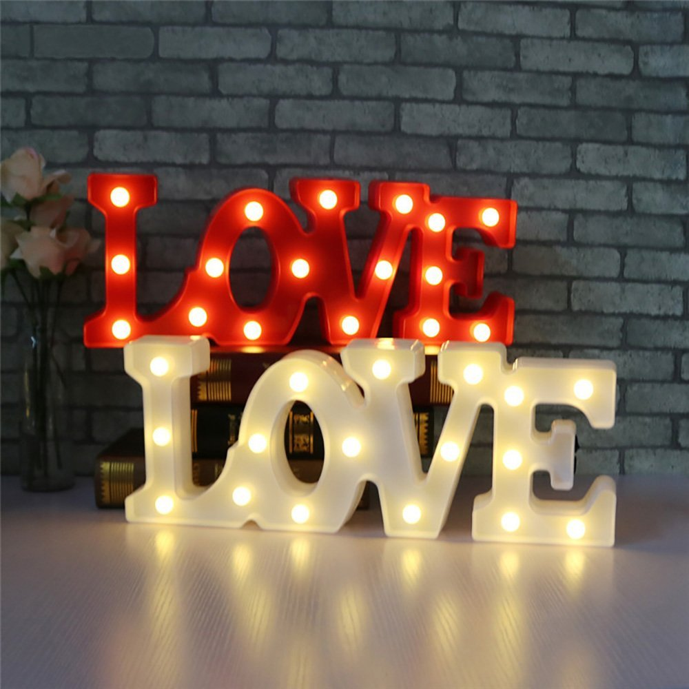 Luminária led romântica para casamento, luz noturna para mesas, luminária noturna, para decorar casamentos, presentes, 3d de amor