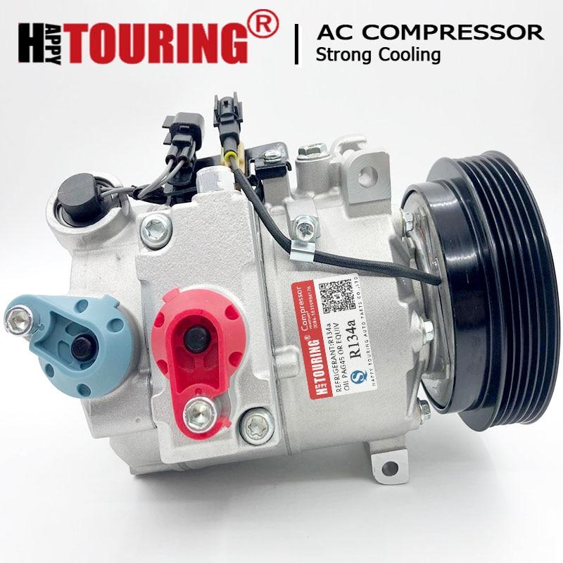 DCS-17EC AC Kompressor für Land Rover LR2 Volvo S60 S80 V70 XC60 XC70 XC90 2007-2013 36002422 36001374 LR021947 36051068