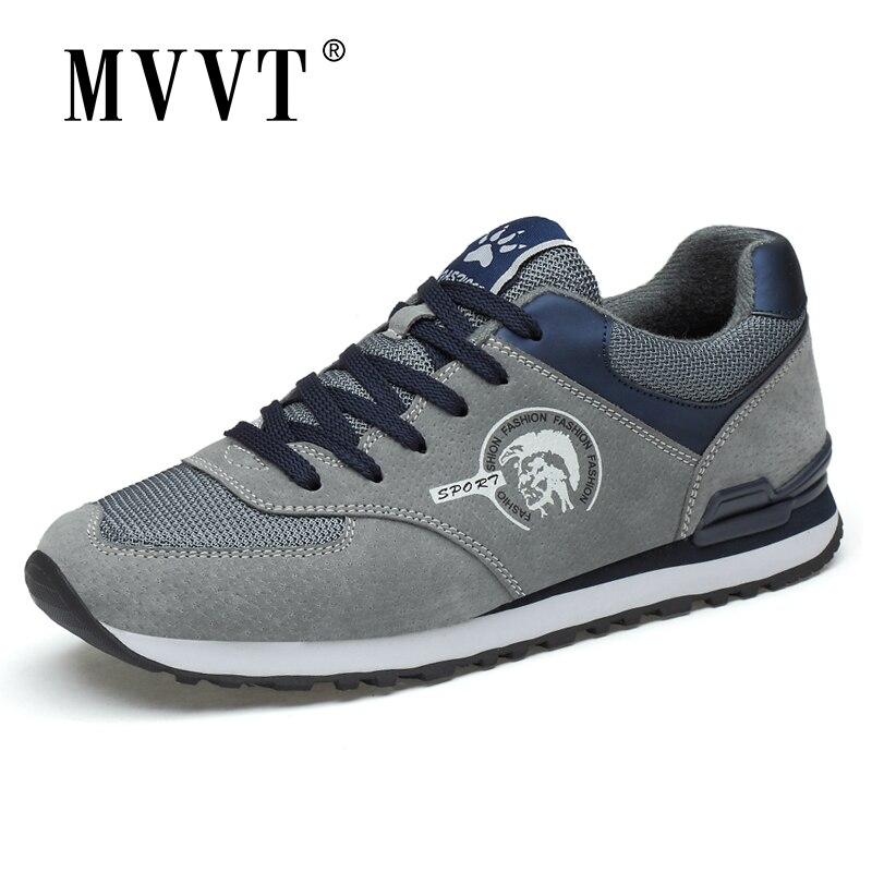 Zapatillas deportivas de ante para Hombre, calzado de deporte de ante, para...