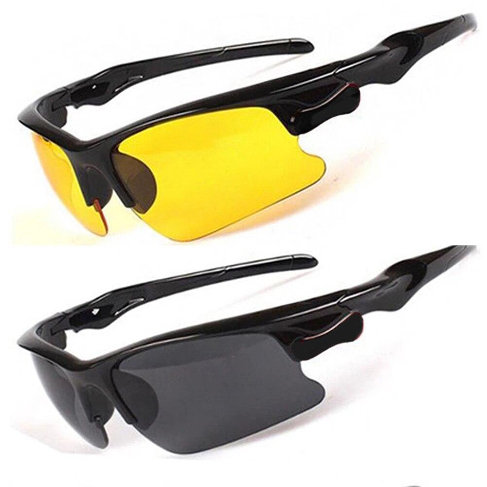 Очки ночного видения защитные очки для вождения солнцезащитные очки автомобильные антибликовые очки видение УФ-защита для вождения защитн...