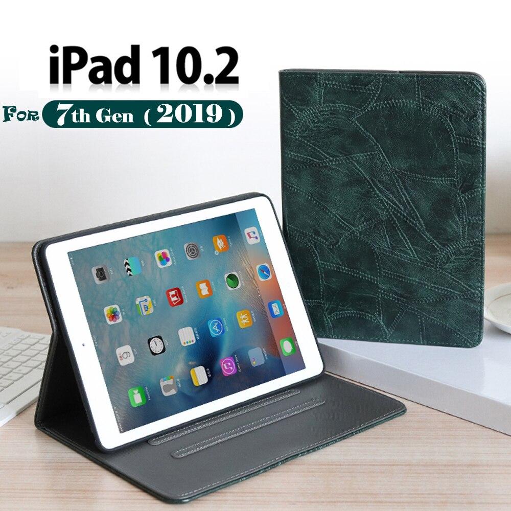 Coolaxy Fall Für Apple iPad 10,2 Fall Abdeckung PU Leder Smart Fall Für IPad 2019 10,2 Fall Für IPad 7th generation Fall
