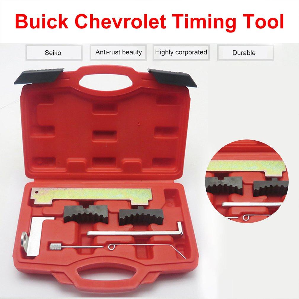 Kit de herramientas de sincronización de motor de coche para Fiat para Cruze para Vauxhall/Opel herramientas de reparación de cuidado de motor de coche con caja roja 1,6 1,8 16V