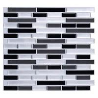 3d mosaic tile wall sticker self adhesive oil proof waterproof wallpaper murals diy kitchen bathroom home decor vinyl decals