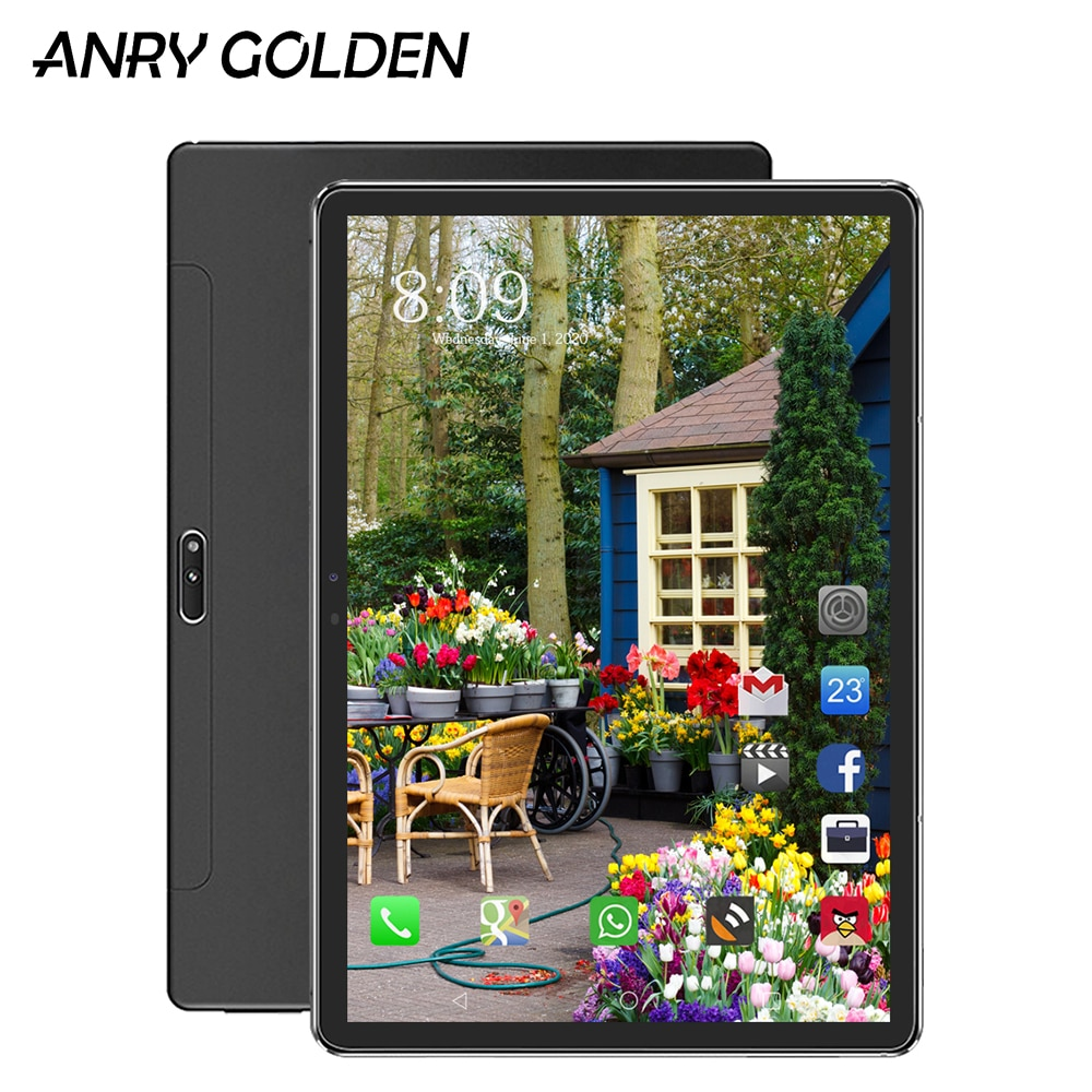 ANRY Type-C Tablet 11.6 Inch Android 8.1 4G LTE Phone Call Tablet Pc IPS 1920*1080 32/64/128GB ROM Dual Sim GPS Screen Game Tab