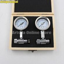 Valve de surpression de pression, unité de fauteuil dentaire compresseur dair manomètre mètre manomètre de pression dair dentaire