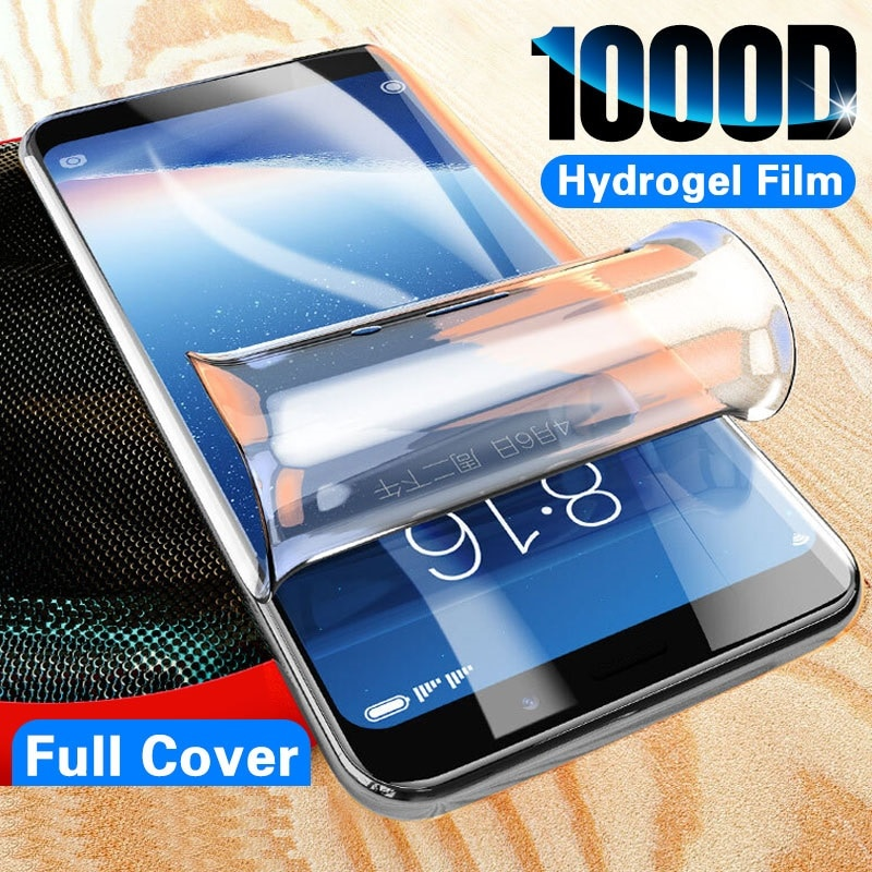 Full Hydrogel Film For Asus Rog Phone II ZS660KL ZS600KL Screen Protector For Zenfone 5 ZE620KL ZS620KL on Max Pro (M1) ZB601KL