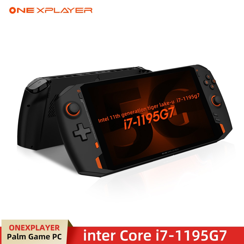In Stock ONEXPLAYER 8.4 Inch Game Console Pocket Computer PC One-Notebook i7-1195g7 16G RAM 1TB SSD IPS Touch Screen Windows10