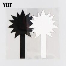 Yjzt 9.8Cm * 16Cm Hamer Patroon Beknopte Wapen Auto Sticker Decoratieve Vinyl Decal 1A-0467