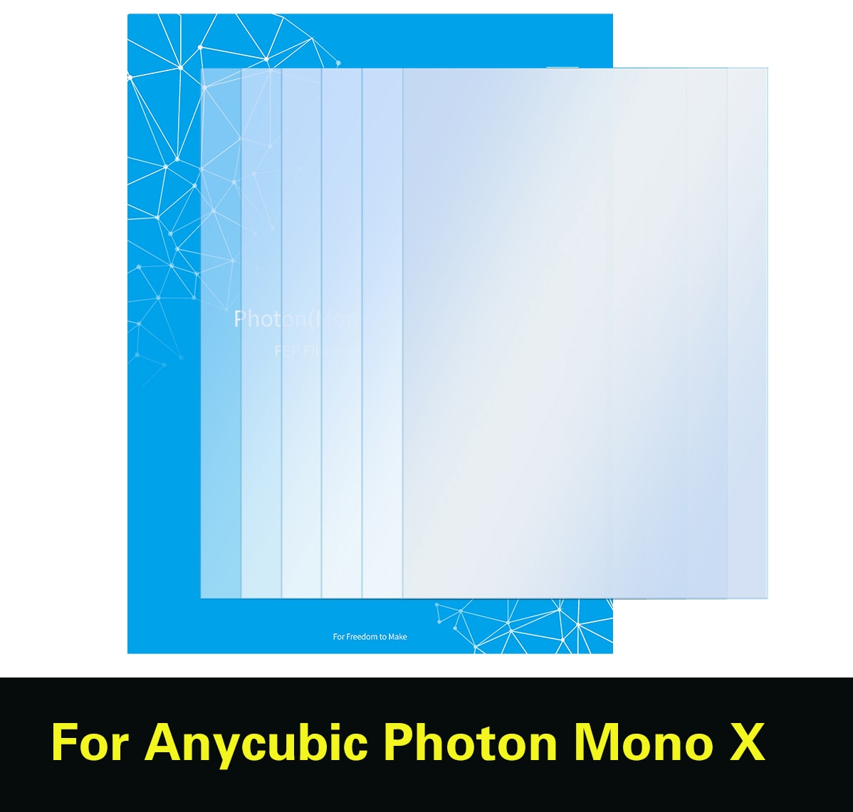 sla-3d-printer-part-fep-film-for-anycubic-photon-mono-x-015mm-260-165-uv-resin-lcd-3dprinter-5pcs-fep