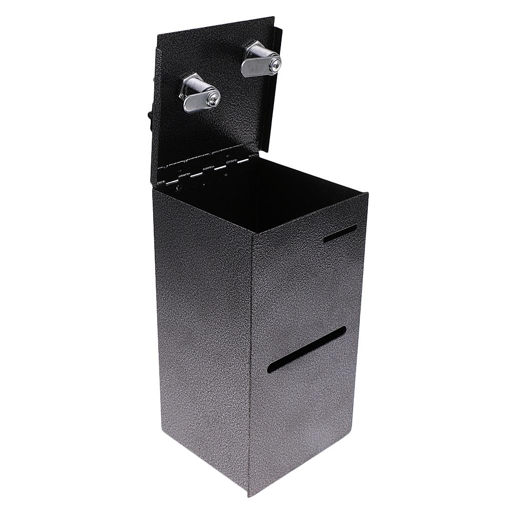 Покерный стол с двойной блокировкой в домашнем стиле, коробка для хранения чипов от продавцов казино, коробка для хранения денег-1