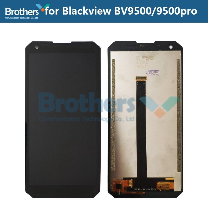 Pantalla LCD para Blackview BV9500 9500 pro LCD pantalla táctil digitalizador BV9500 Pro LCD montaje de piezas de teléfono prueba de reemplazo