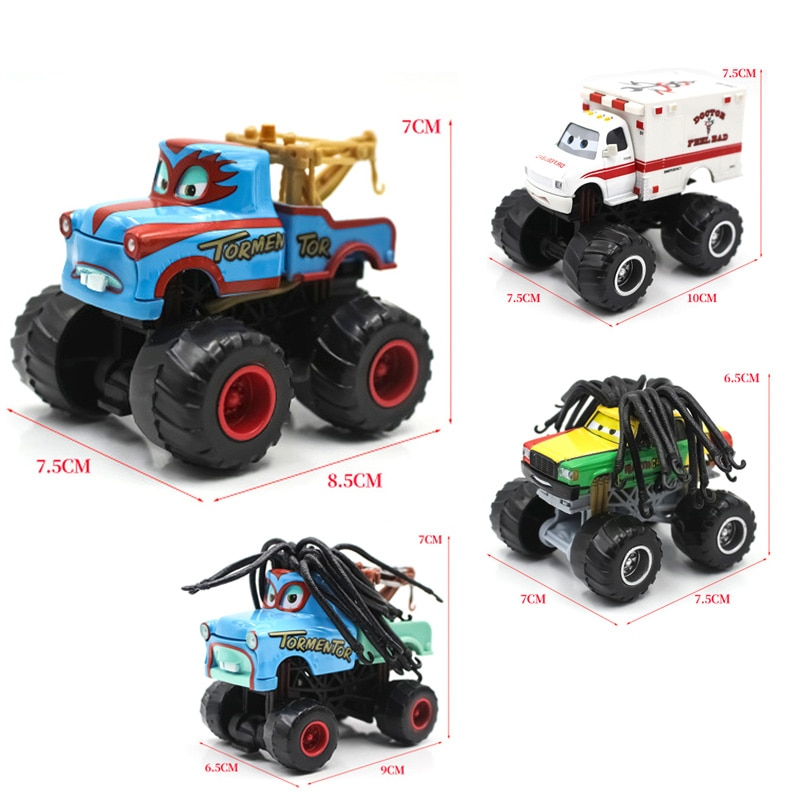 Stunt Big Foot Die-cast Car Disney Pixar Cars 3 Skipper Birthday Toy Ripslinger Metal Diecast Model Plane Toys For Children Gift